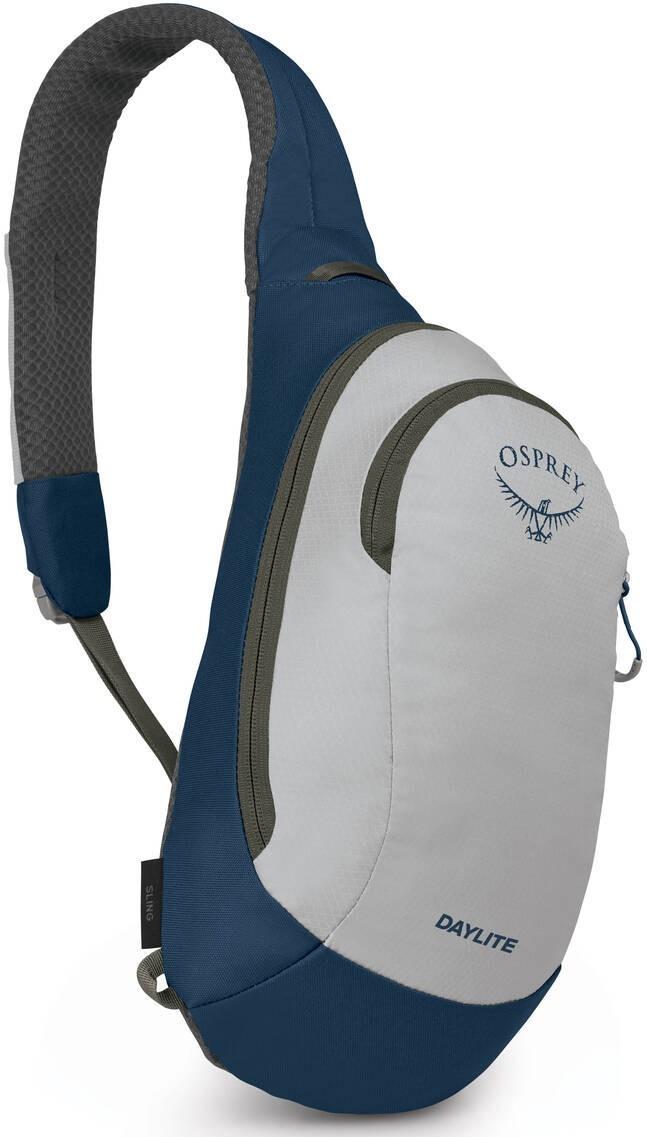 Городские рюкзаки Рюкзак однолямочный Osprey Daylite Sling, Aluminium Grey Daylite_Sling_S21_Side_Aluminum_Grey_web.jpg