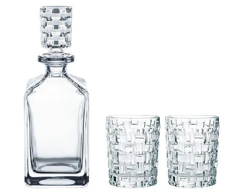 Набор для виски декантер 750 мл и 2 стакана 330 мл. Bossa Nova