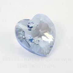 6228 Подвеска Сваровски Сердечко Crystal Blue Shade (14,4х14 мм)