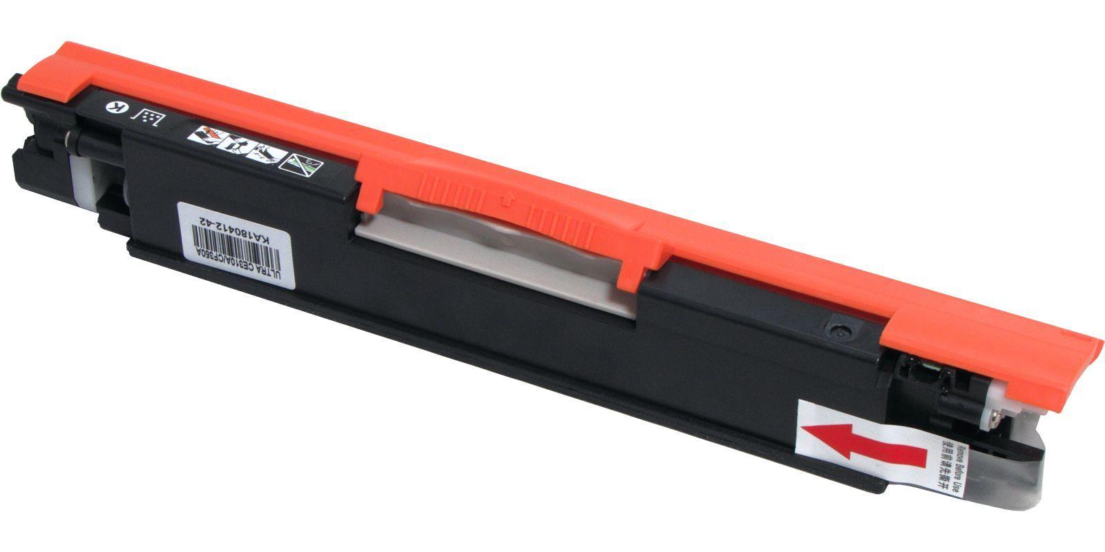 Картридж лазерный цветной ULTRA 126A/130A Universal CE312A/CF352A желтый (yellow), до 1000 стр.
