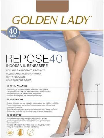 Женские колготки Repose 40 Golden Lady