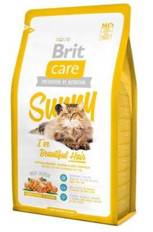 2745 Brit Care Cat Sunny Beautiful Hair д/Длинношерстых кошек 7кг