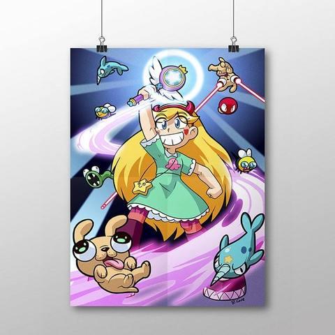 Плакат со Стар Баттерфляй №5