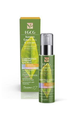 Белита М EGCG Korean GREEN TEA Сыворотка-сияние для лица для всех типов кожи 30г