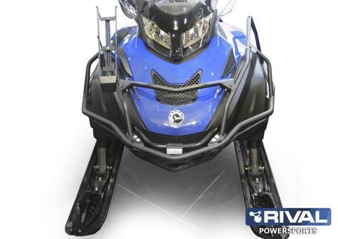 Бампер передний для снегохода BRP Ski-doo Skandic WT/SWT 900/Lynx 59/69 Yeti (2015- )/ Ski-doo Tundra WT(2014-2015) с возможностью установки ложемента ружья на обе стороны 2015-, Сталь