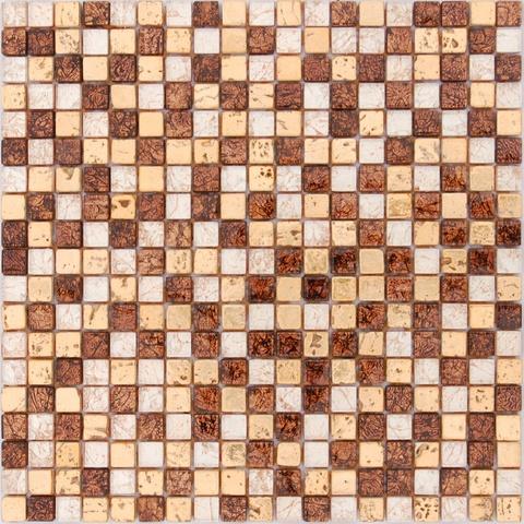 Мозаика каменная со стеклянными вставками Classica6 300х300