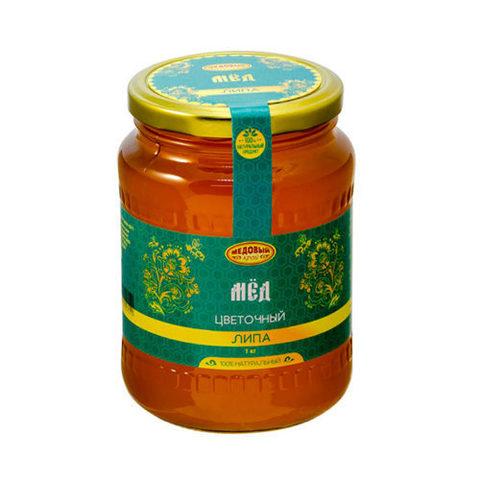 Липовый натуральный мёд 1000 г