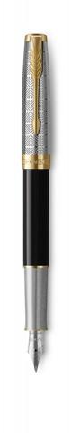 Перьевая ручка Parker Sonnet Premium Refresh BLACK, перо 18K, толщина F123