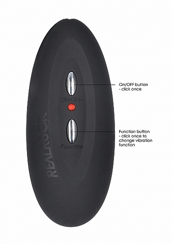 Фаллоимитатор с вибрацией и пультом управления Vibrating Realistic Cock - 11