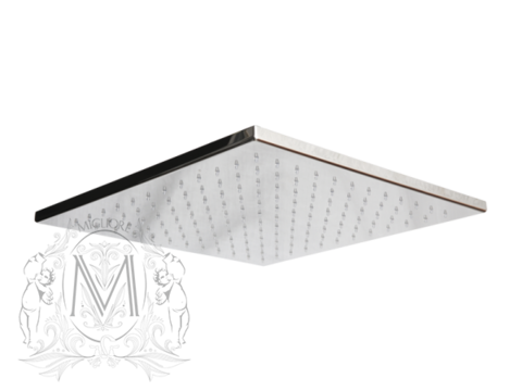 Верхний душ квадратнаый 24x24см.  Migliore Ferrara  ML.FRR-35.310