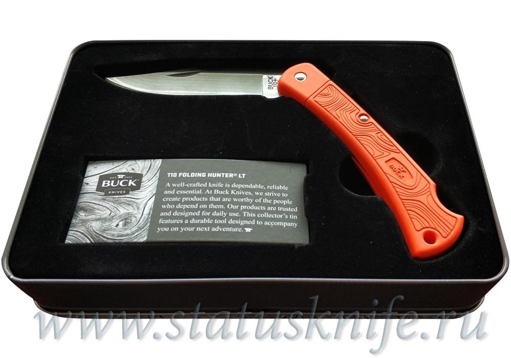 Нож Buck Knives 0110ORSLT BVPAK Folding Hunter LT - фотография