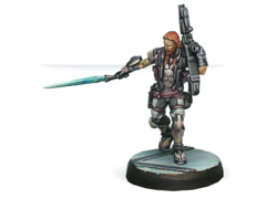 Phoenix. Veteran Myrmidon Officer (Heavy Rocket Launcher)