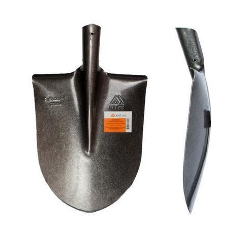Лопата штыковая б/ч,рельсовая сталь