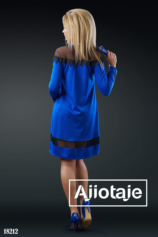 Платье A-силуэта с вырезом капелька