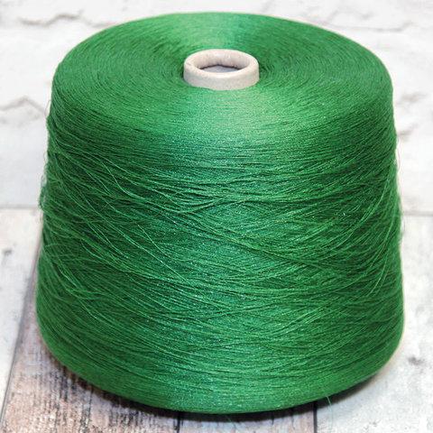 Вискоза LANIFICIO DELL OLIVO / GALAXY 3650 зеленый с блеском