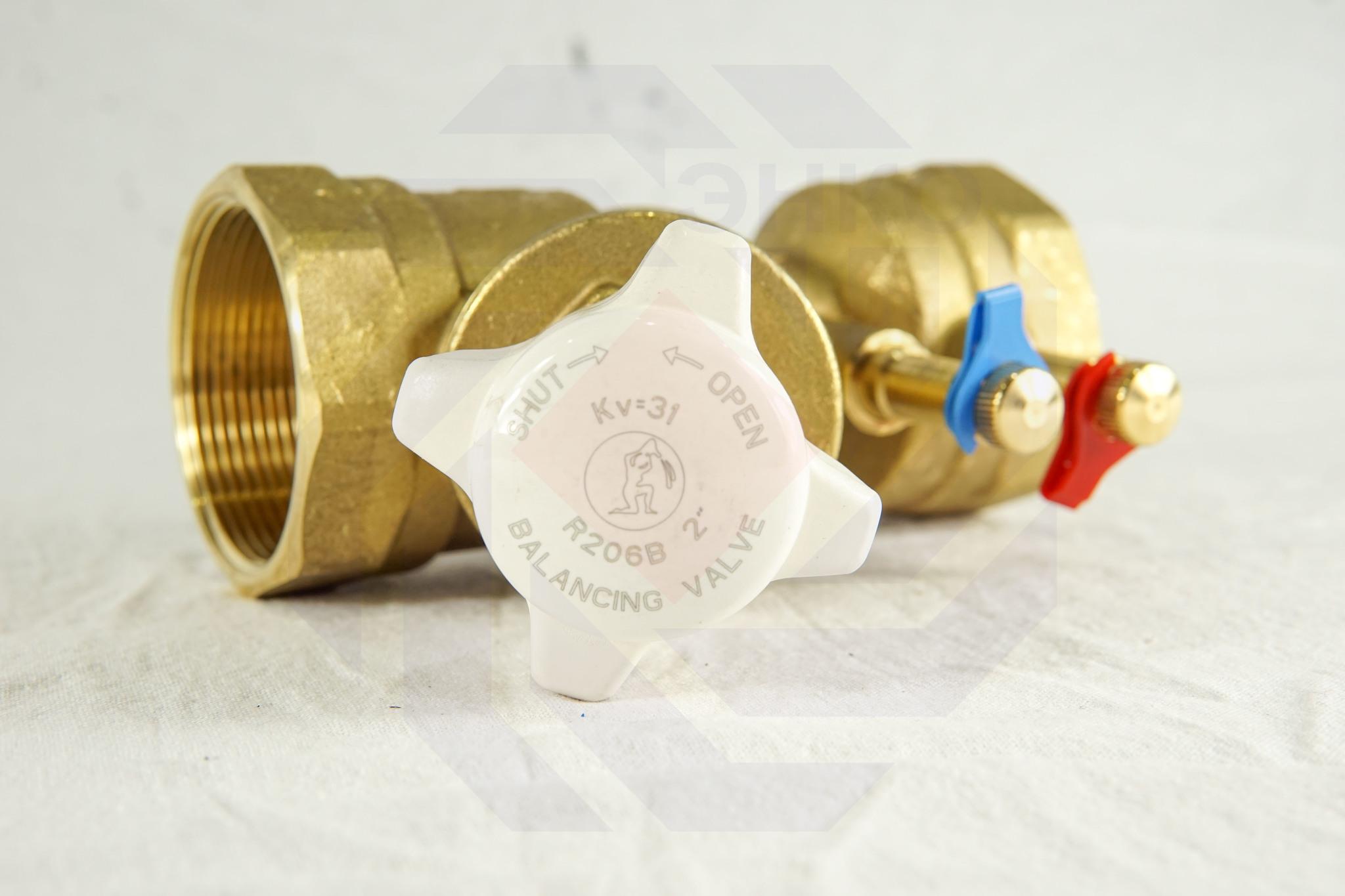 Клапан балансировочный GIACOMINI R206B DN 50