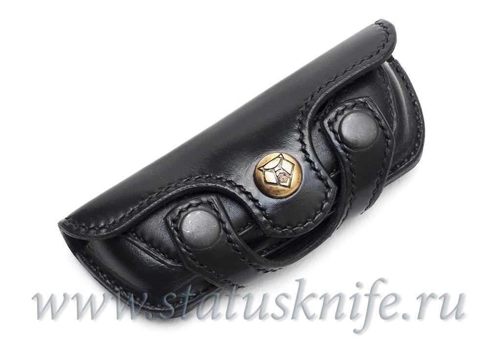 Чехол кожаный черный для МБШ Флиппер 95, Хати, Ф3
