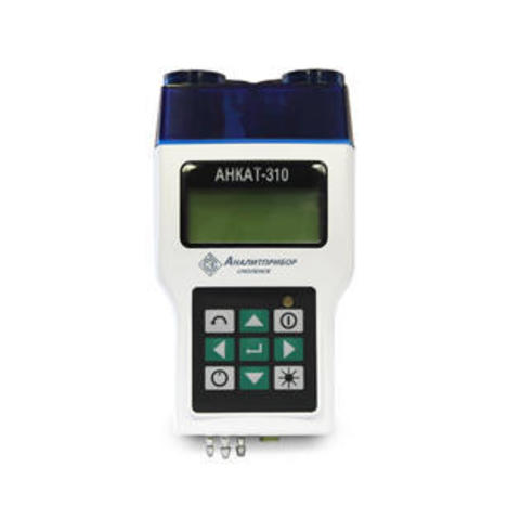 Переносной газоанализатор измерения параметров отходящих газов АНКАТ-310-03 кислород (O2), угарный газ (CO), оксид азота (NO), диоксид серы (SO2))