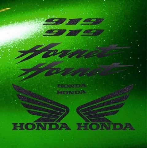 Набор виниловых наклеек на мотоцикл HONDA CB919F HORNET 2002