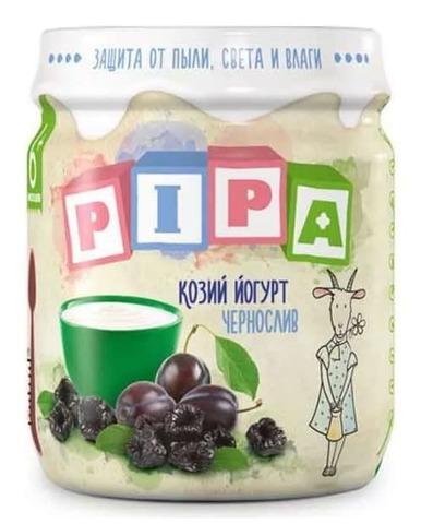 Козий йогурт с черносливом 100г. Pipa