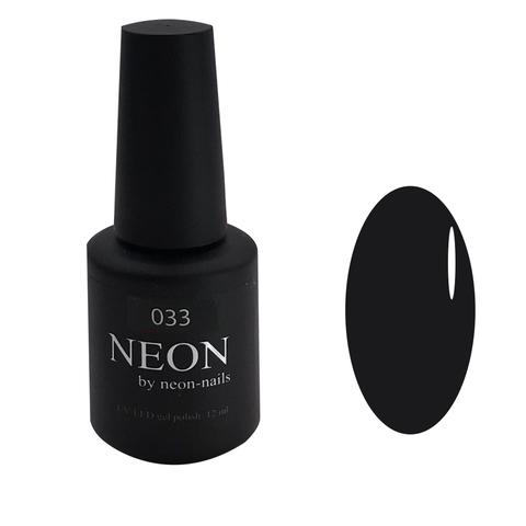 Черный гель-лак NEON