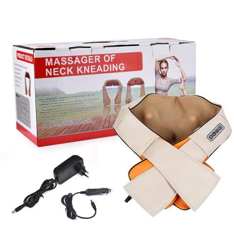 Инфракрасный массажер Massager of Neck Kneading  шейный