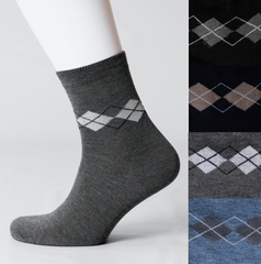 VM017 носки мужские, цветные 42-46 (3шт)
