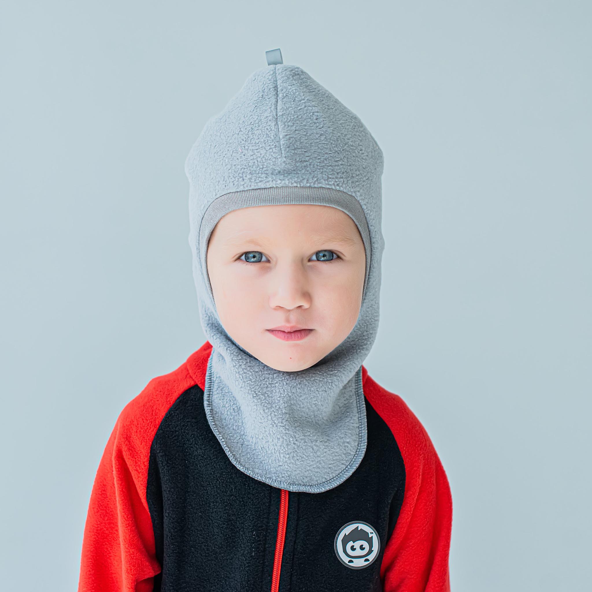Шлем демисезонный флисовый