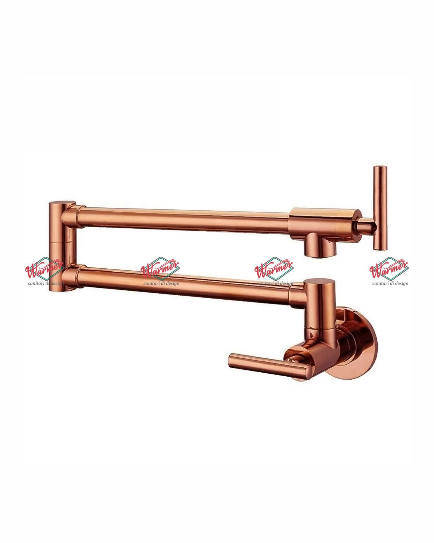 Смесители для кухни Смеситель для кухни Warmer Rose Gold  Line KNW-0193 KNW-0193.jpg