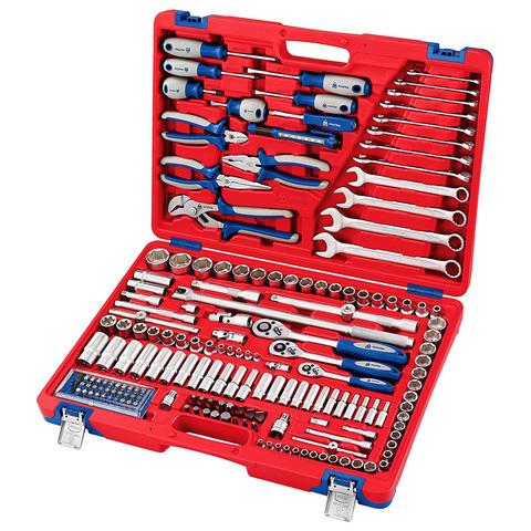 МАСТАК (01-174C) Набор инструментов универсальный, 174 предмета
