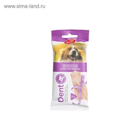 Titbit Dent Лакомство для собак средних пород жевательный снек со вкусом ягненка