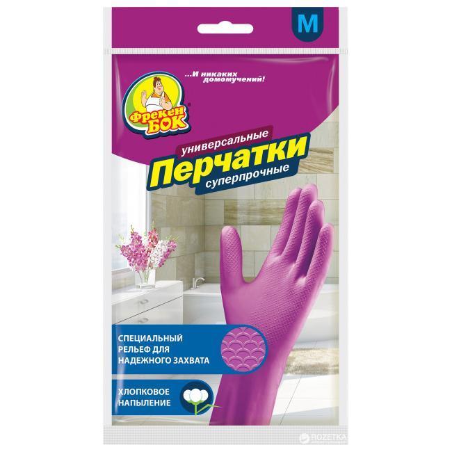 Перчатки Фрекен Бок резиновые плотные