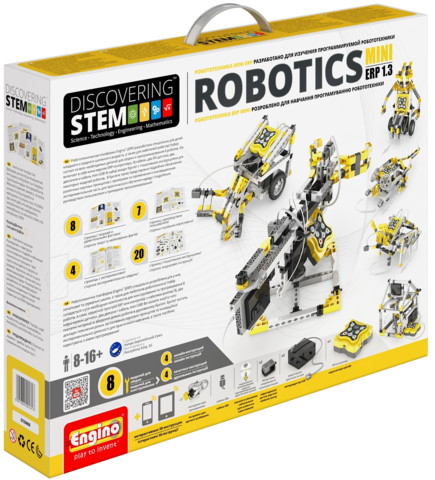 DISCOVERING STEM. Робототехника MINI ERP 1.3