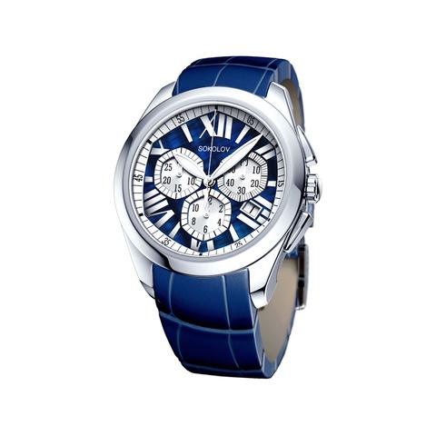 148.30.00.000.09.04.2- Женские серебряные часы  SOKOLOV