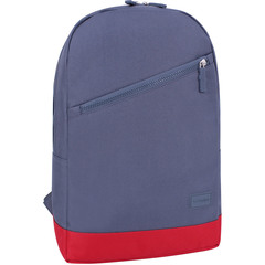 Рюкзак Bagland Amber 15 л. серый/красный (0010466)