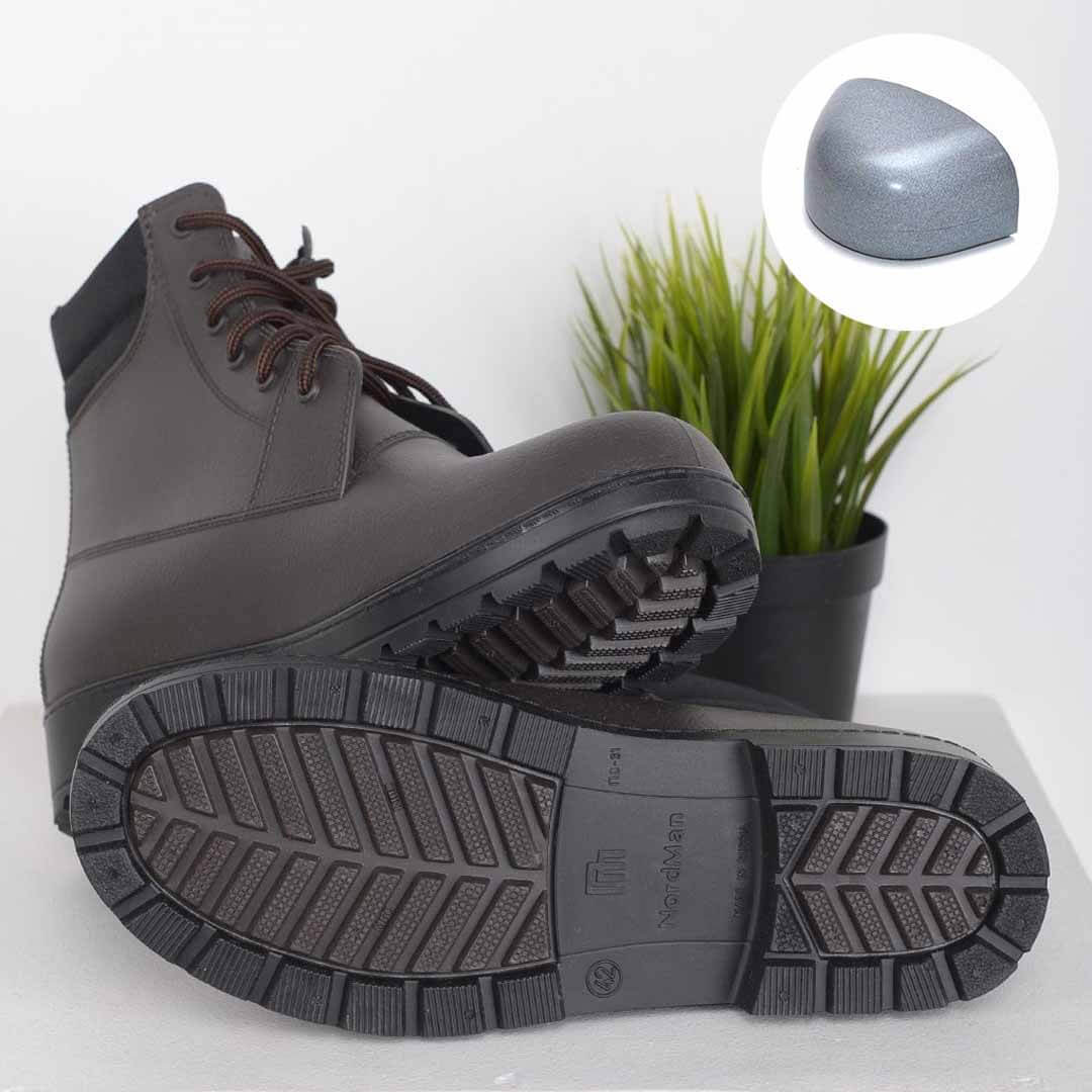 Nordman Rover коричневые с черной подошвой с металлическим носком