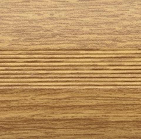 Профиль Русский Профиль Стык с дюбелем разноуровневый 30мм Дуб светлый 900мм