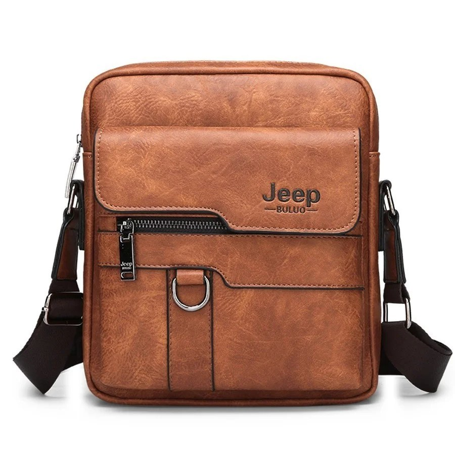 Товары для мужчин Мужская сумка Jeep Buluo (28х22) sumka-jeep-buluo--light-braun.jpg