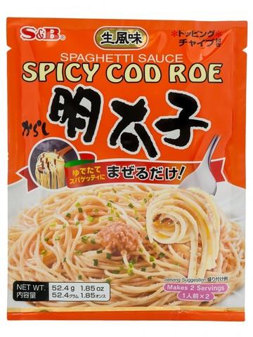 Приправа S*B для спагетти Ментайко 2 порции пл/п., 52,4 гр.