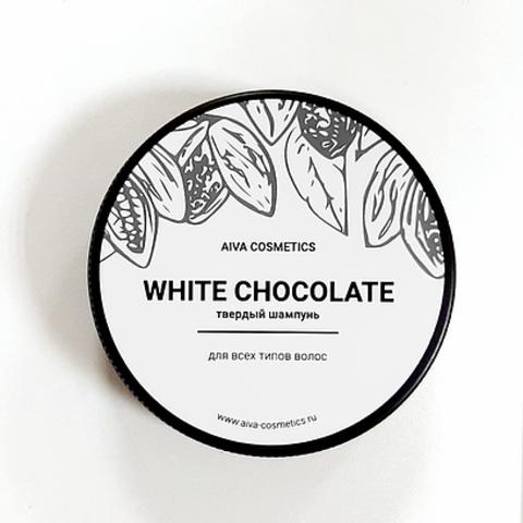 AIVA WHITE CHOCOLATE\твердый шампунь\упаковка стандарт, 50 гр