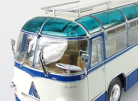 LAZ-695B Tourist bus blue-white Ultra Models 1:43