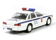 Ford Crown Victoria DPS GAI Police Moscow 1:43 DeAgostini Service Vehicle #58