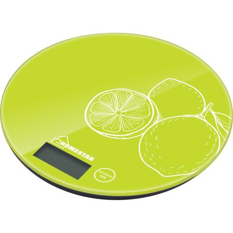Весы кухонные электронные HOMESTAR HS-3007S, 7 кг, лайм