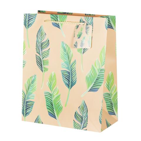 Пакет подарочный Leaves 26*32*12.5 4