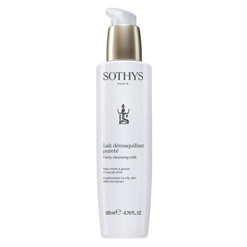 Sothys Beauty Milks: Очищающее молочко для жирной/комбинированной кожи лица с экстрактом ириса (Purity Cleansing Milk)
