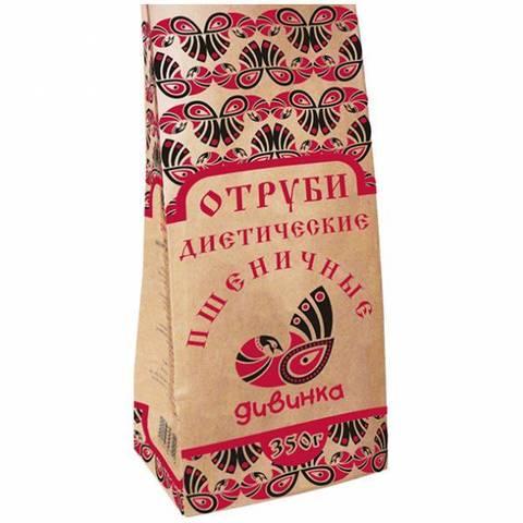 Отруби Пшеничные, 350 гр. (Дивинка)