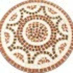 Стол Secret De Maison Ромео Романо (Romeo Romano) — черный/ мозаика