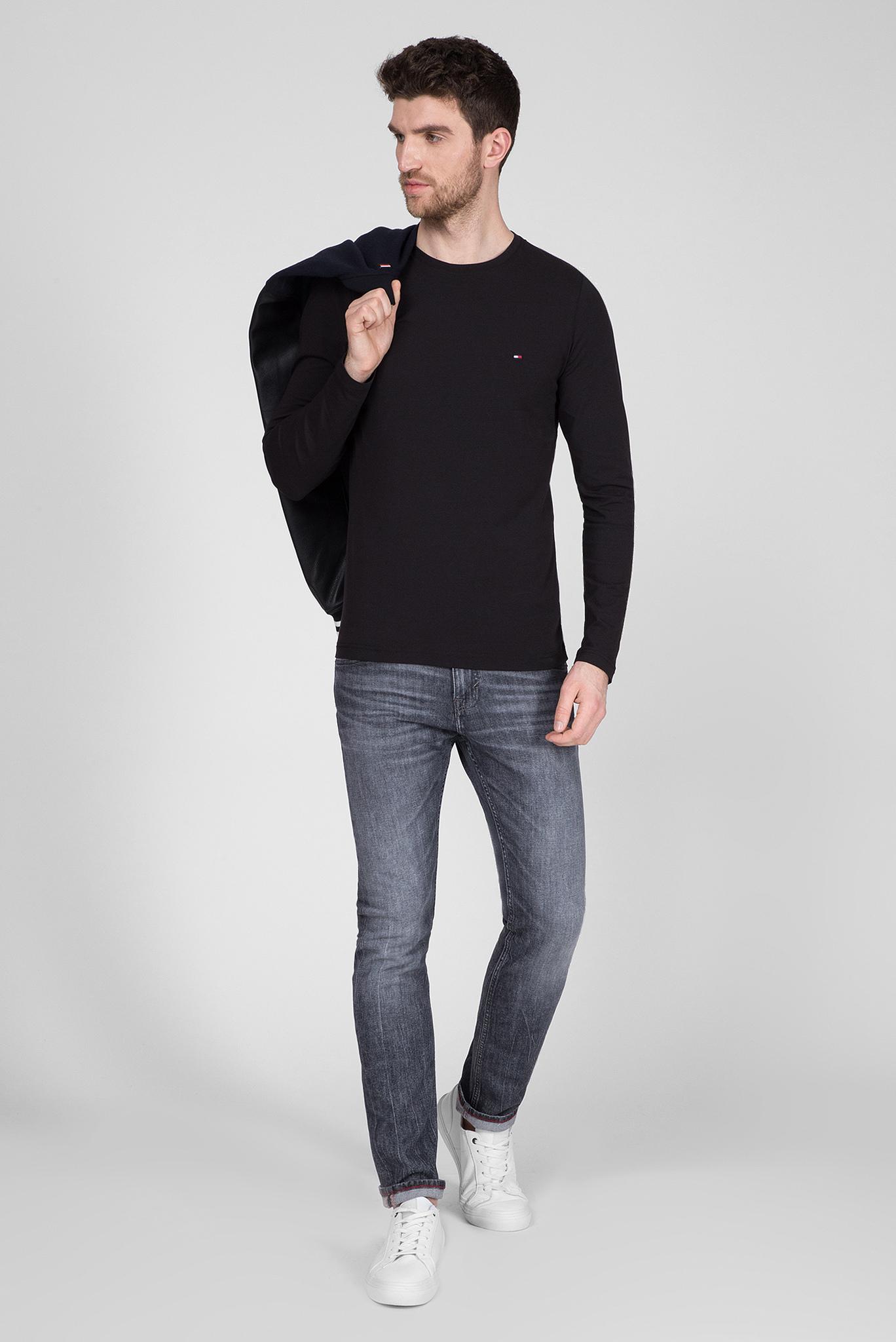 Мужские серые джинсы SLIM BLEECKER Tommy Hilfiger