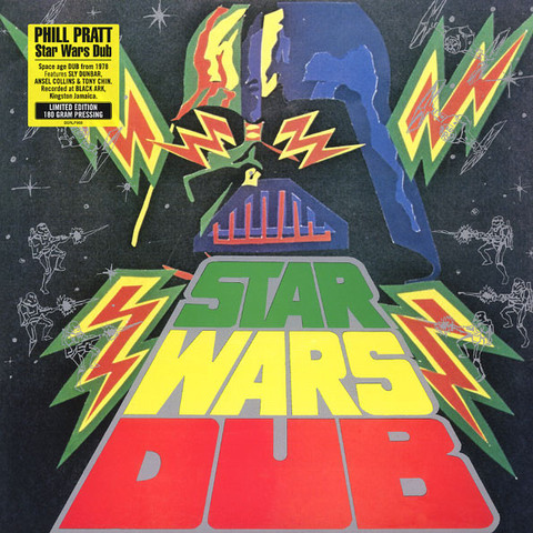 Виниловая пластинка. Phill Pratt's Star Wars Dub