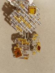 Адела  (кольцо + серьги из серебра)
